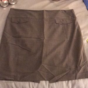 Express Grey pencil skirt